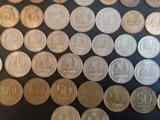 Комплект рублей разного номинала 1992-1993года