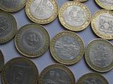 10 рублей юбилейные. Биметалл. разные asd123